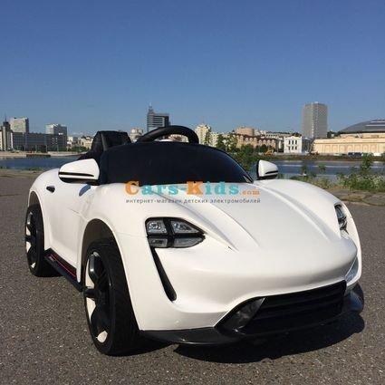 Электромобиль Porsche Sport белый