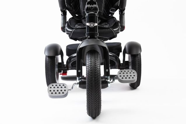 Трехколесный велосипед Bentley BN2O 2019 черный цвет (трансформер)
